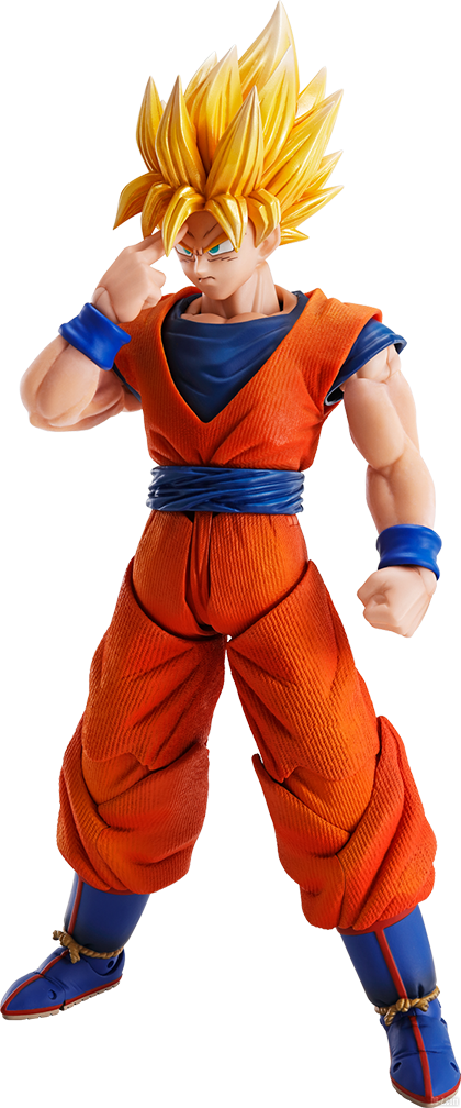 Imagination Works Son Goku Super Saiyan Render 2