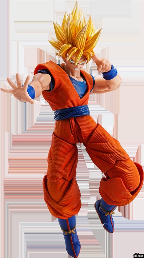 Imagination Works Son Goku Super Saiyan Render 3