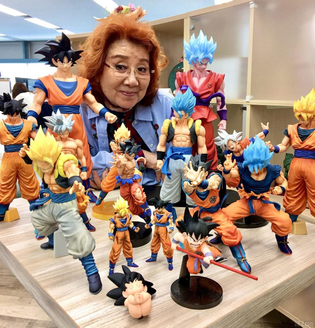 Masako Nozawa 84 ans