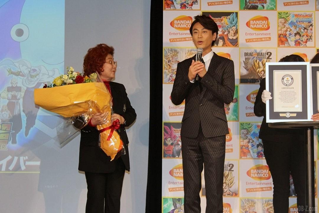 Masako Nozawa et Kiyoshi Hikawa