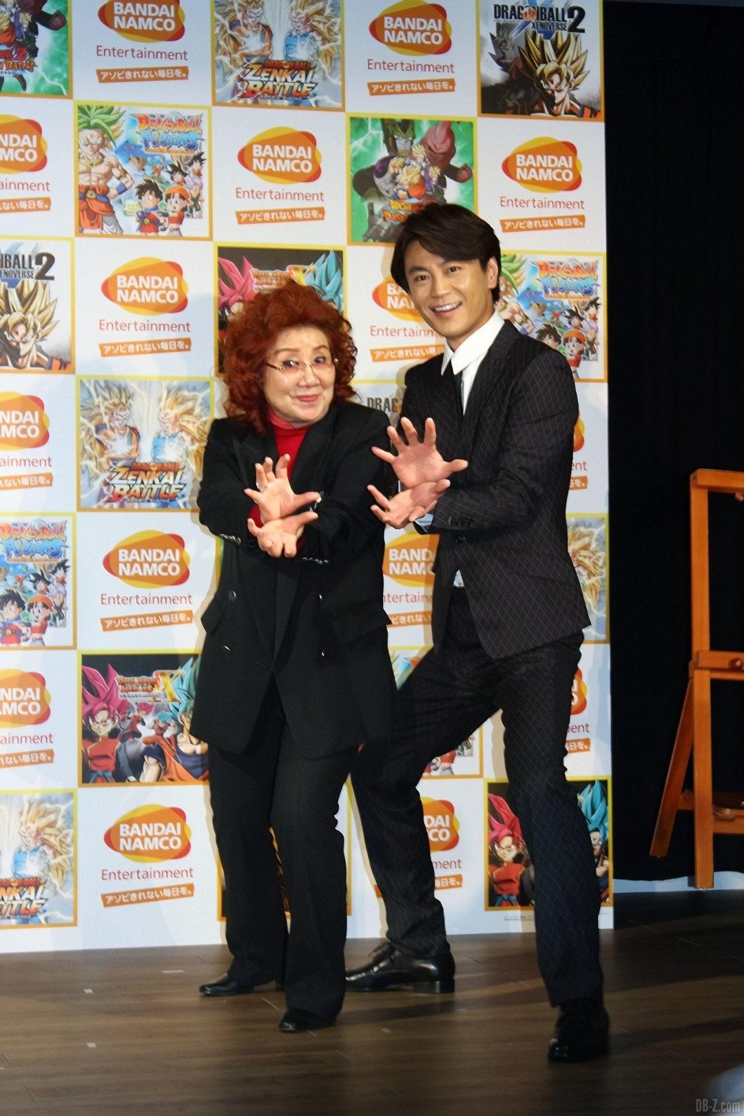 Masako Nozawa et Kiyoshi Hikawa Record du Monde