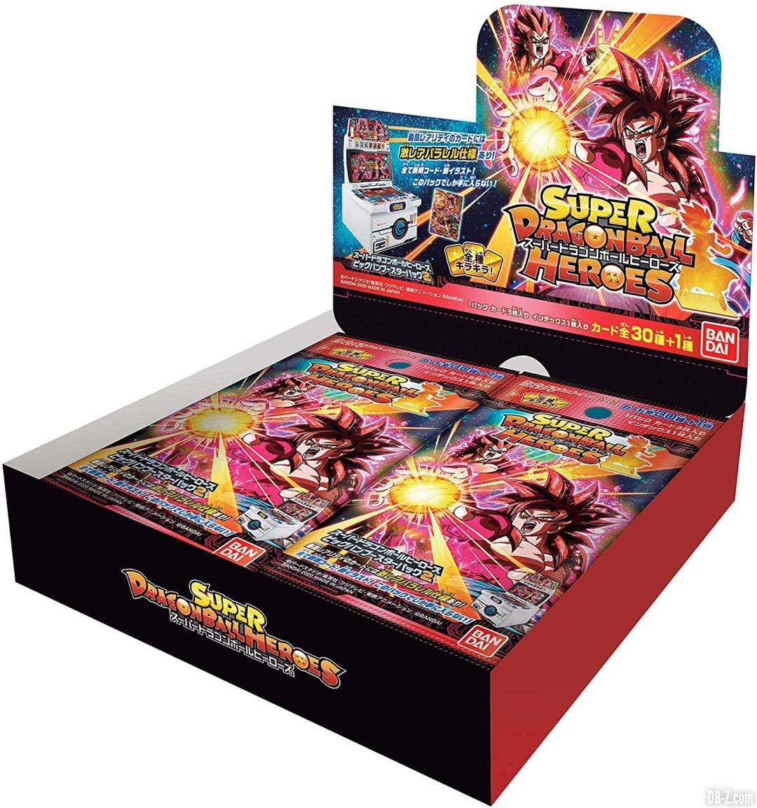 Super Dragon Ball Heroes Big Bang Booster Pack 2