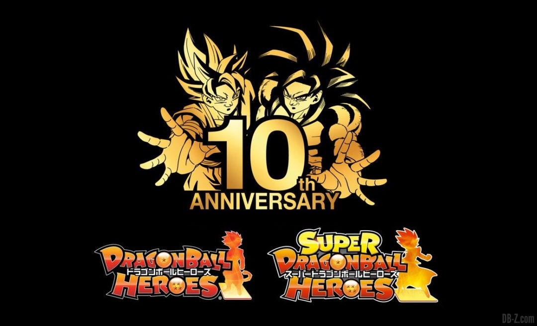 10 ans Super Dragon Ball Heroes