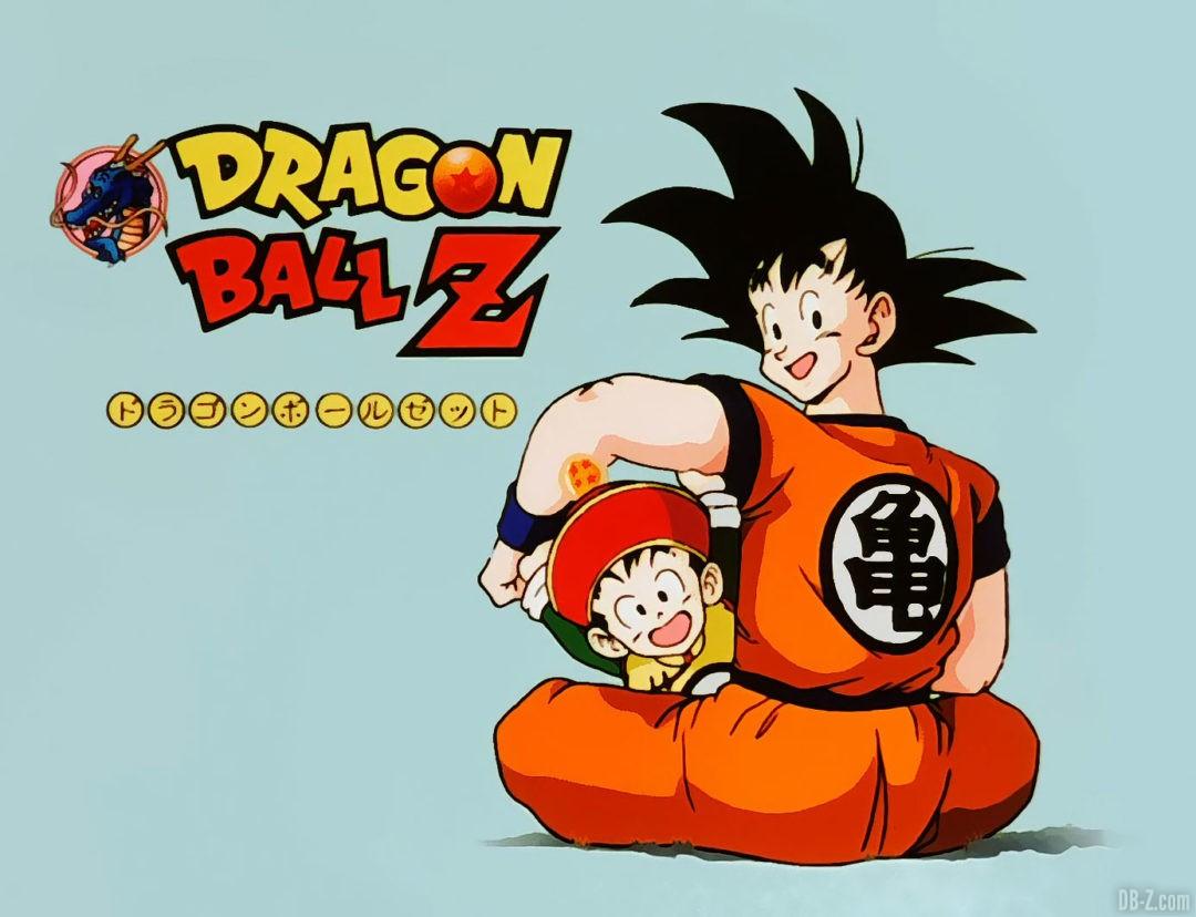 Eyecatch Dragon Ball avec Goku et Gohan
