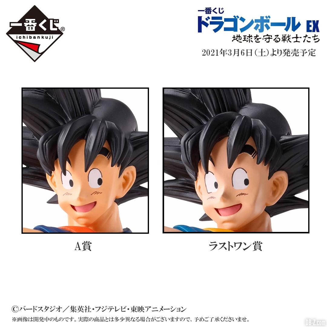 Figurine Figurine Goku Lot A vs Last One