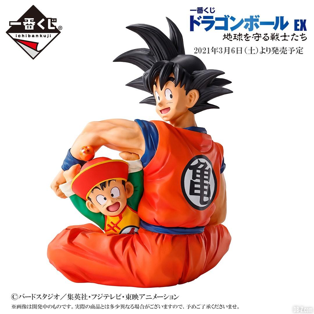 Figurine Goku et Gohan