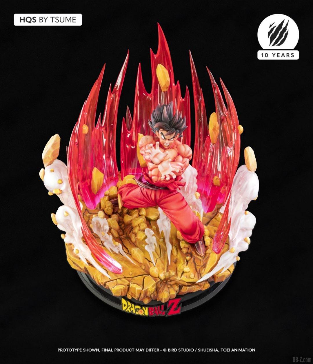 HQS Goku KaioKen Tsume Art Image 01
