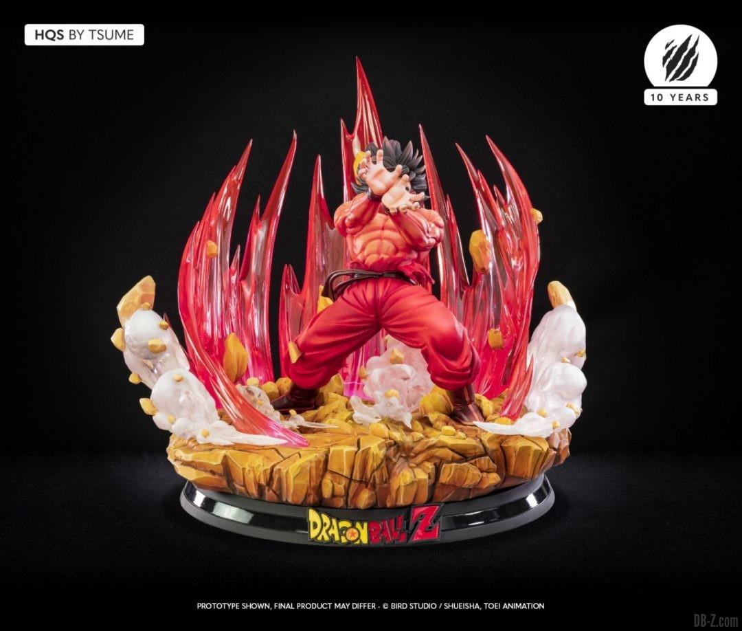 HQS Goku KaioKen Tsume Art Image 03