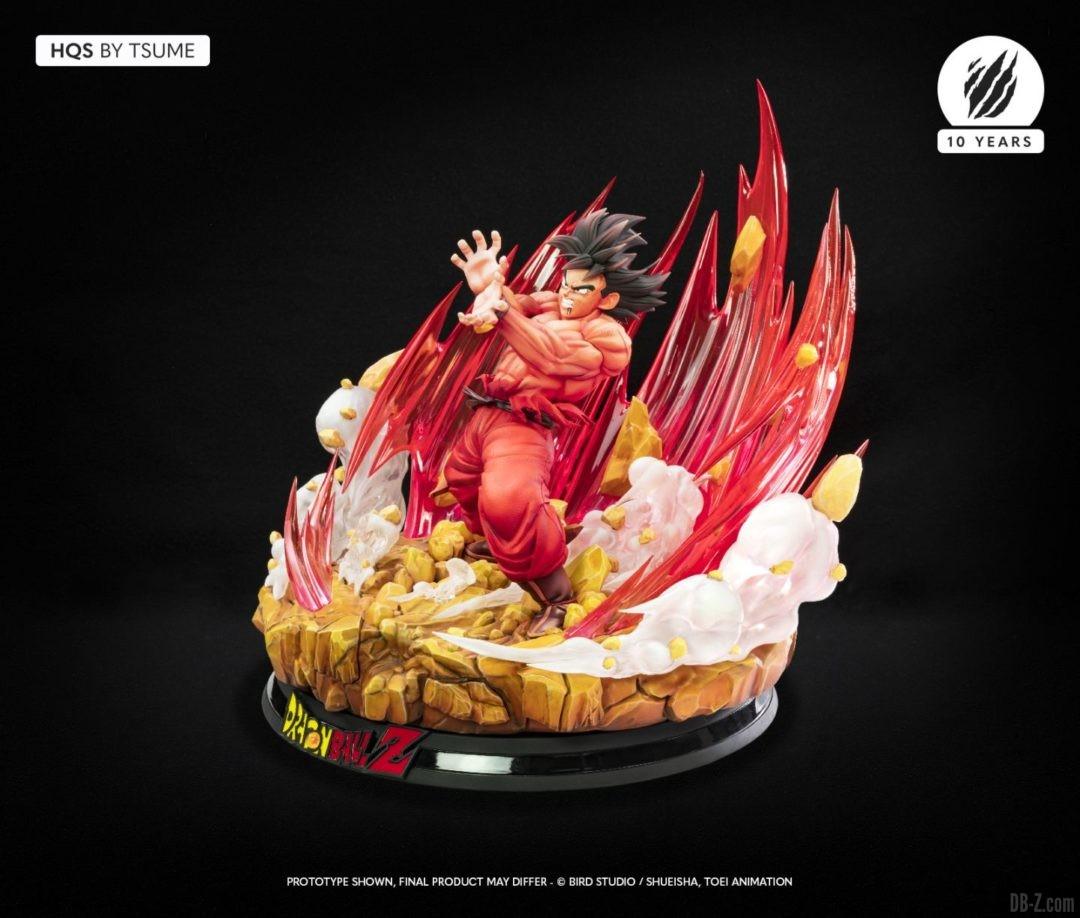 HQS Goku KaioKen Tsume Art Image 04