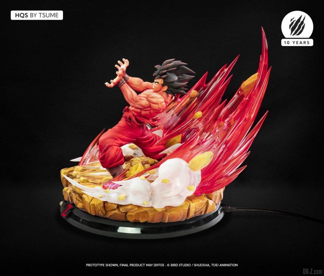 HQS Goku KaioKen Tsume Art Image 05