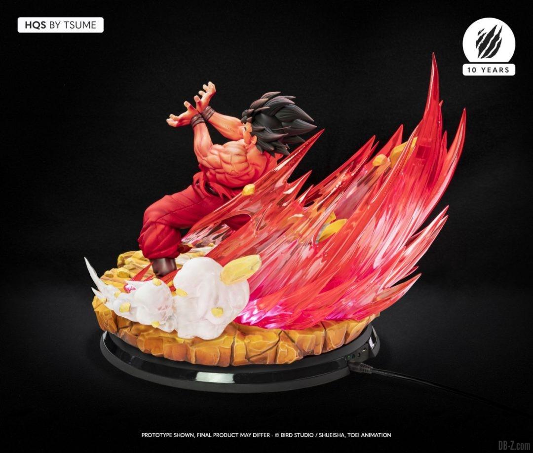 HQS Goku KaioKen Tsume Art Image 06