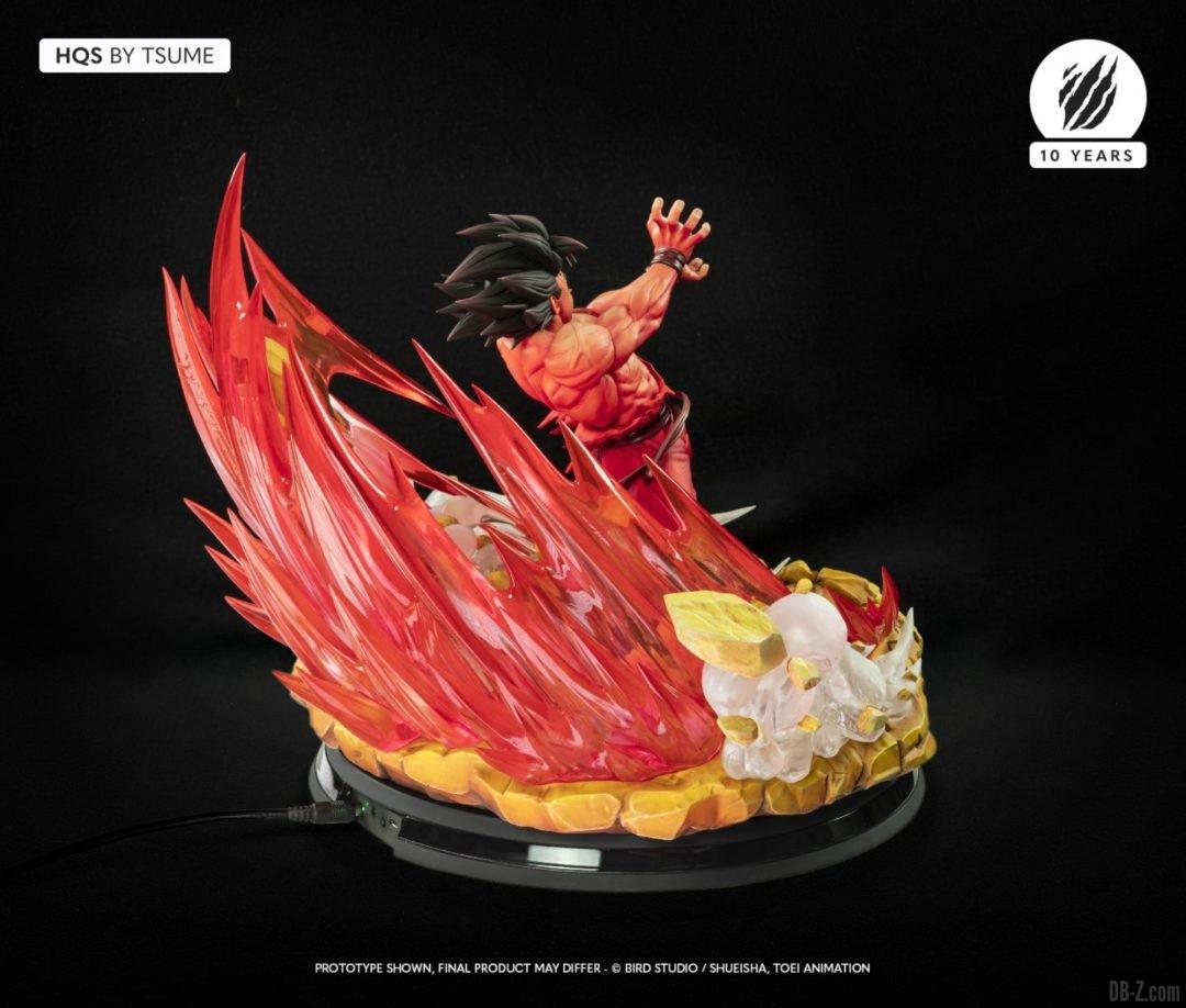 HQS Goku KaioKen Tsume Art Image 08