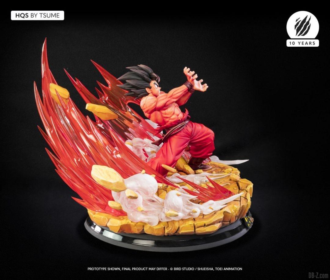 HQS Goku KaioKen Tsume Art Image 09