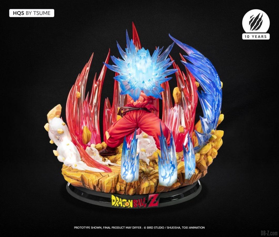 HQS Goku KaioKen Tsume Art Image 10