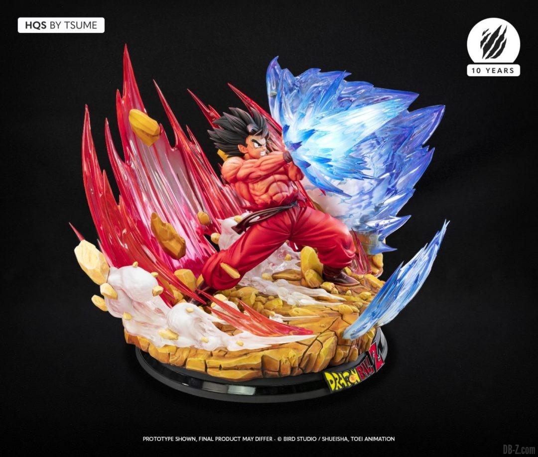 HQS Goku KaioKen Tsume Art Image 11