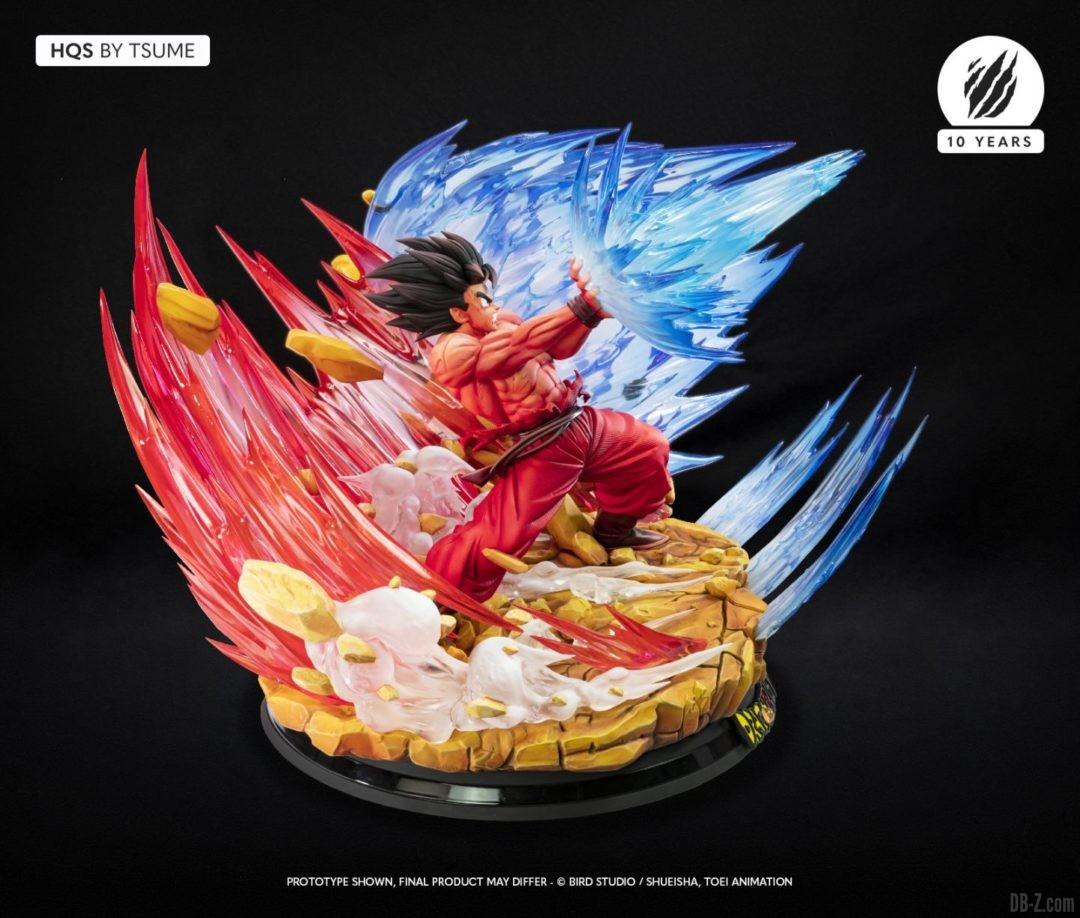 HQS Goku KaioKen Tsume Art Image 12