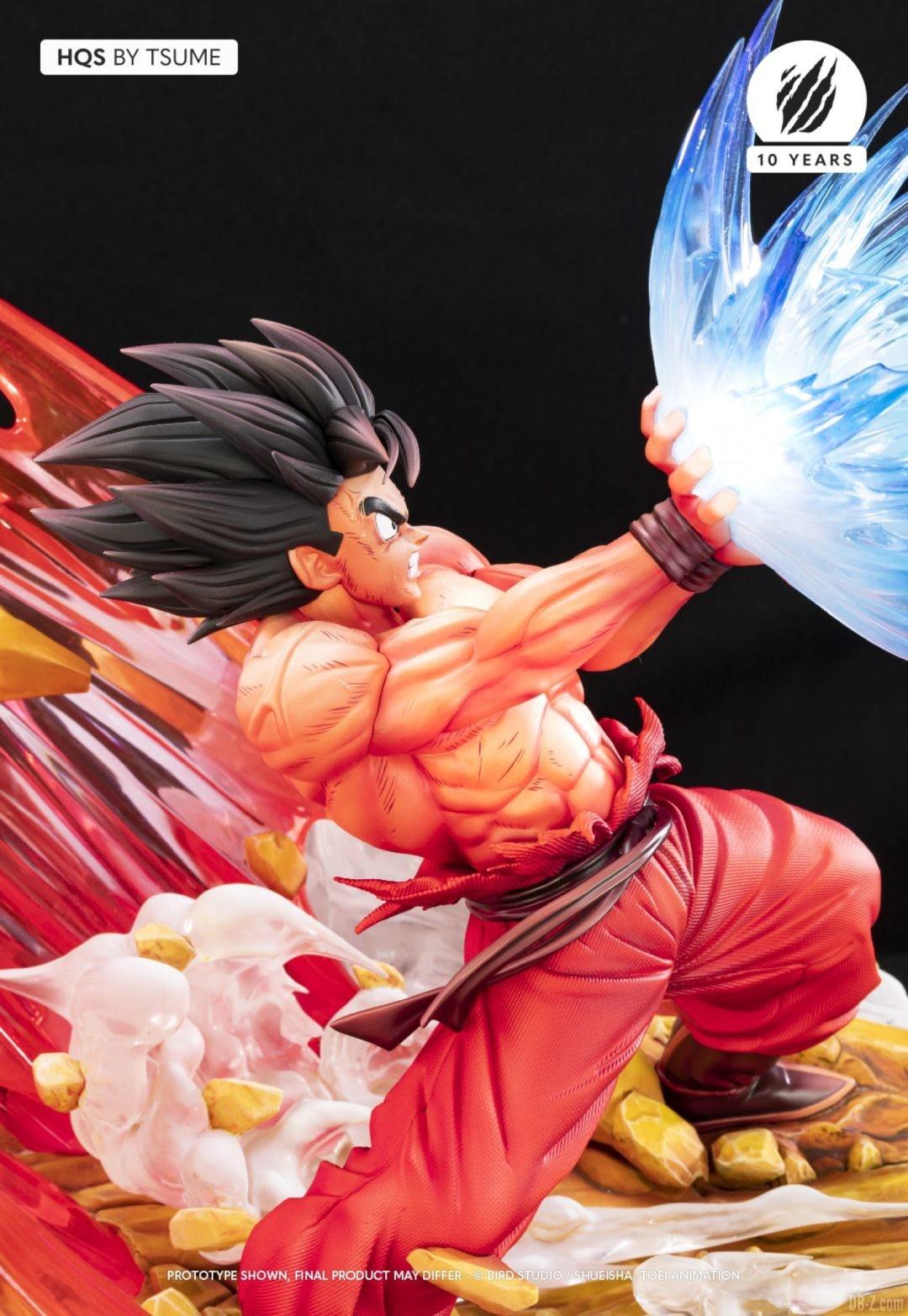 HQS Goku KaioKen Tsume Art Image 13