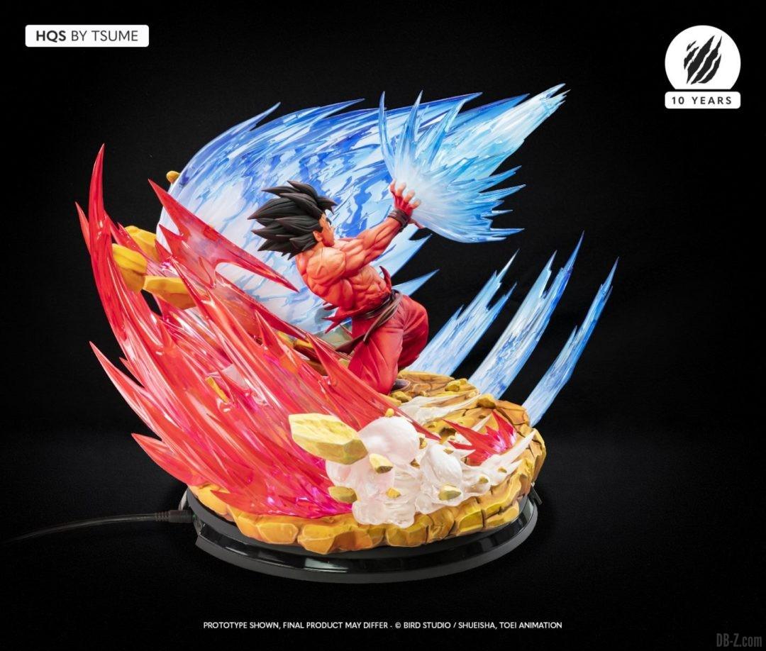 HQS Goku KaioKen Tsume Art Image 14
