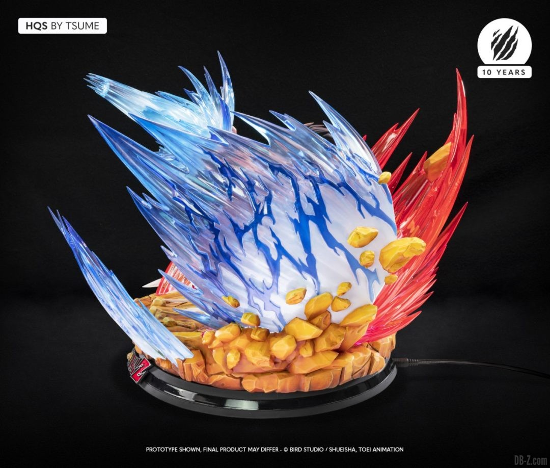 HQS Goku KaioKen Tsume Art Image 15