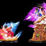 HQS Goku Kaioken Vegeta Galick Gun Tsume