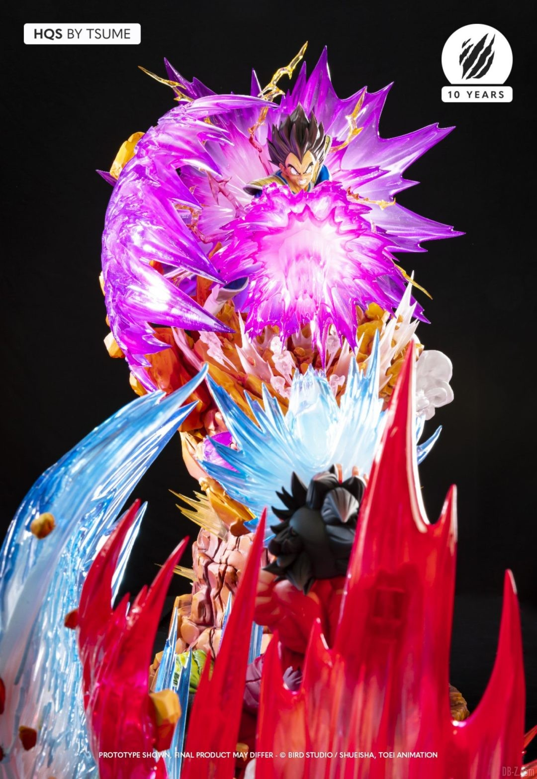 HQS Vegeta Galick Gun Tsume Art Image 01