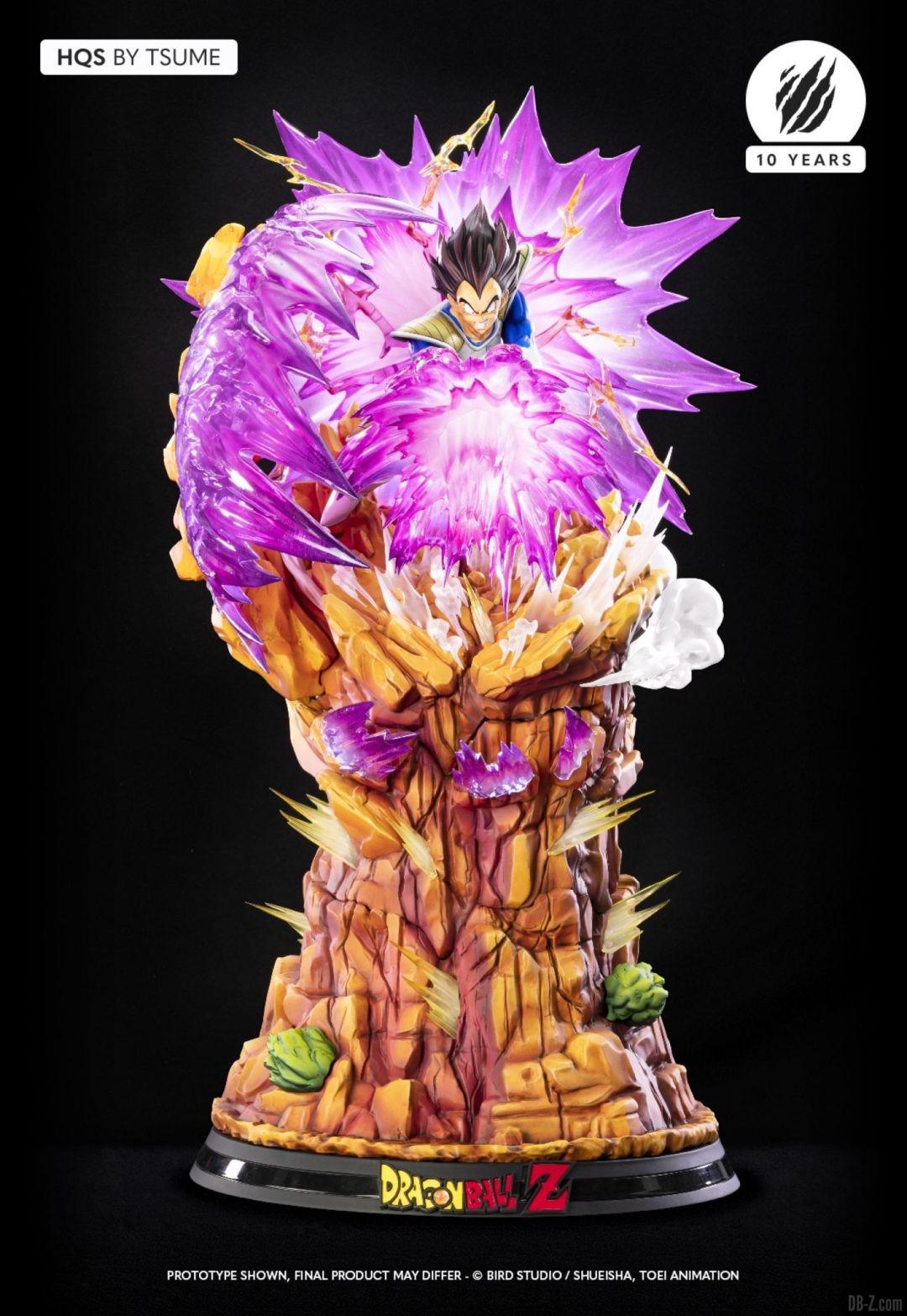 HQS Vegeta Galick Gun Tsume Art Image 05