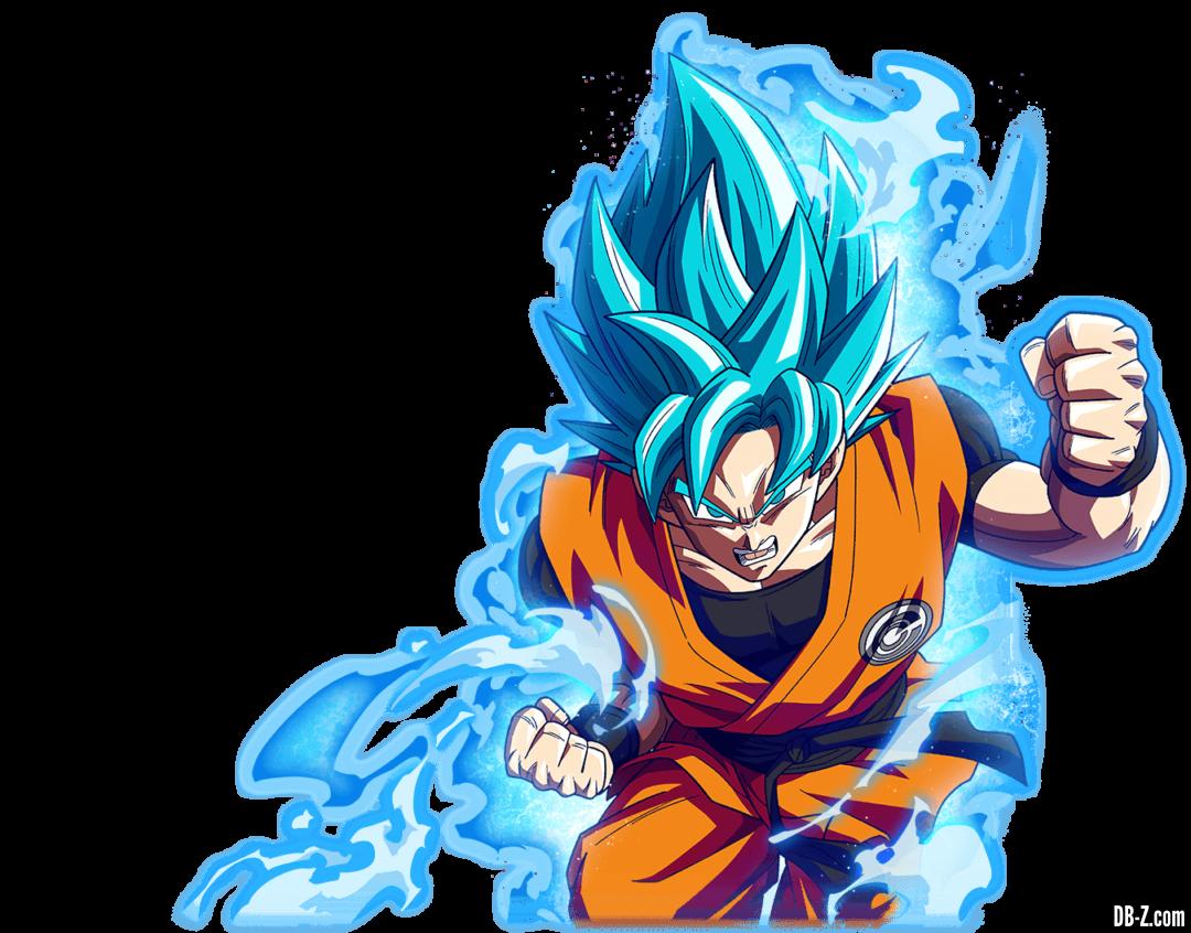 Render Goku Super Saiyan Blue