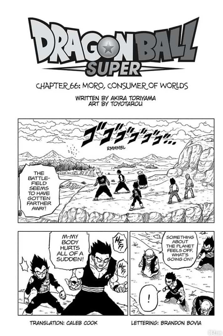 chapitre 66 de dragon ball super manga plus