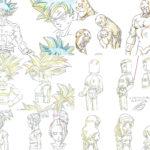 Croquis Dragon Ball Super Arc Survie Pouvoir