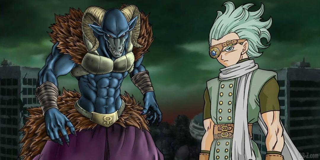 Dragon Ball Super Moro et Granola Toyotaro