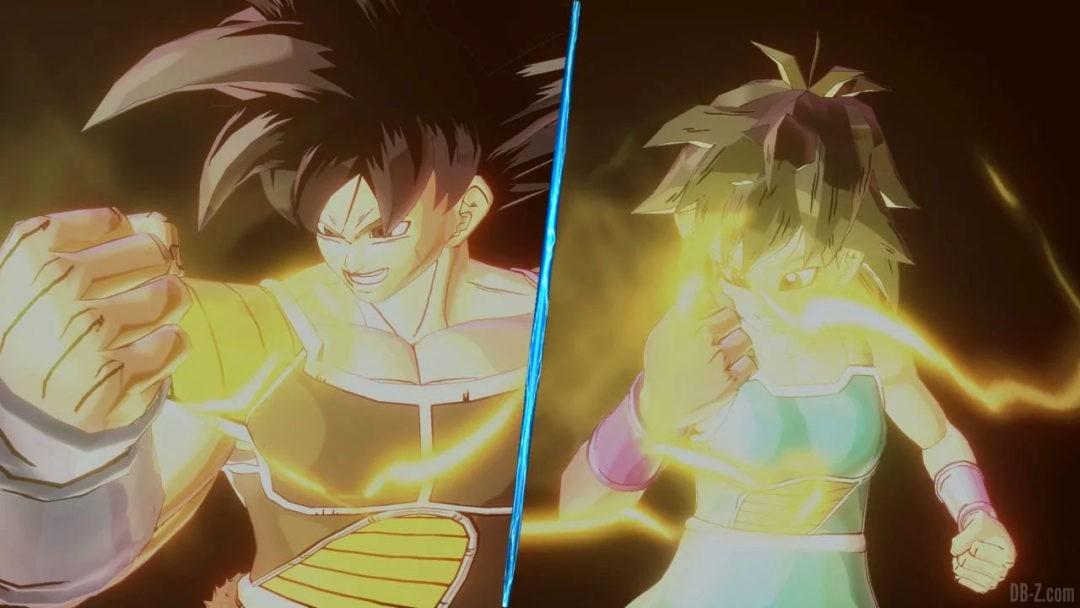 Dragon Ball Xenoverse 2 Costumes Bardock et Gine