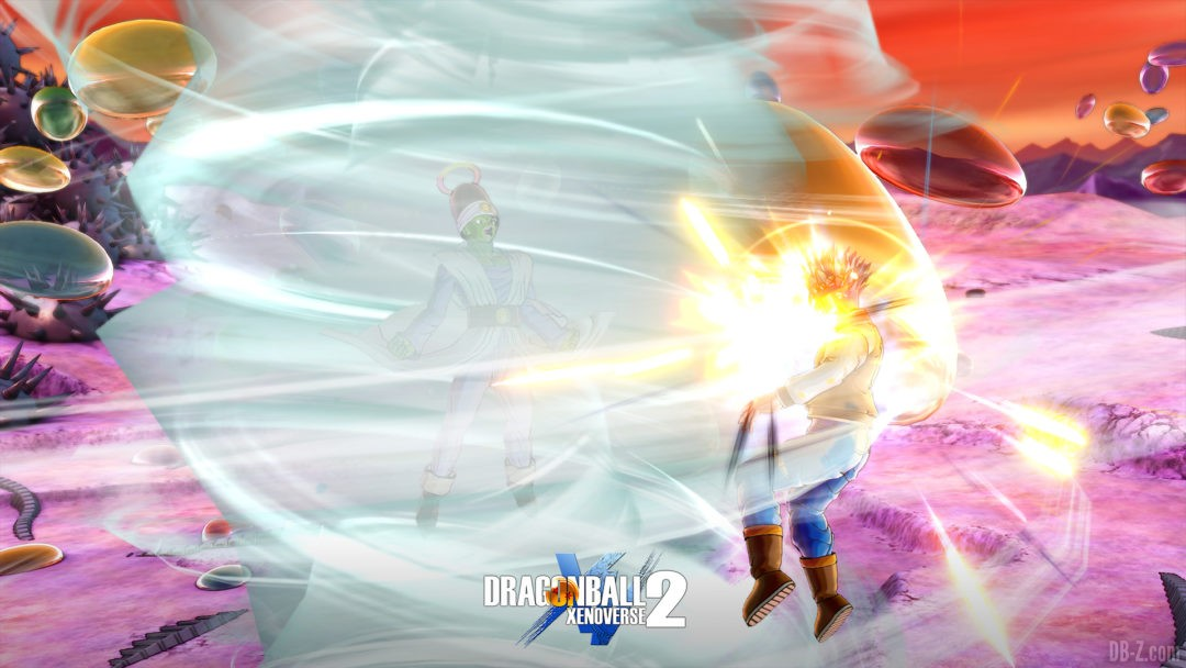Paikuhan Dragon Ball Xenoverse 2 Hyper Cyclone