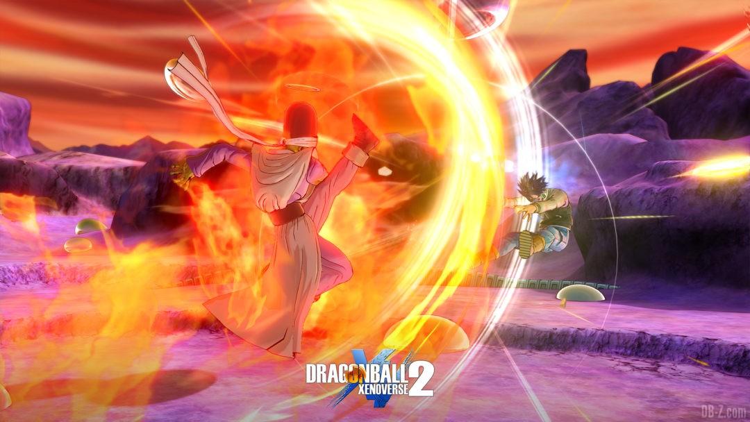 Paikuhan Dragon Ball Xenoverse 2 attaque