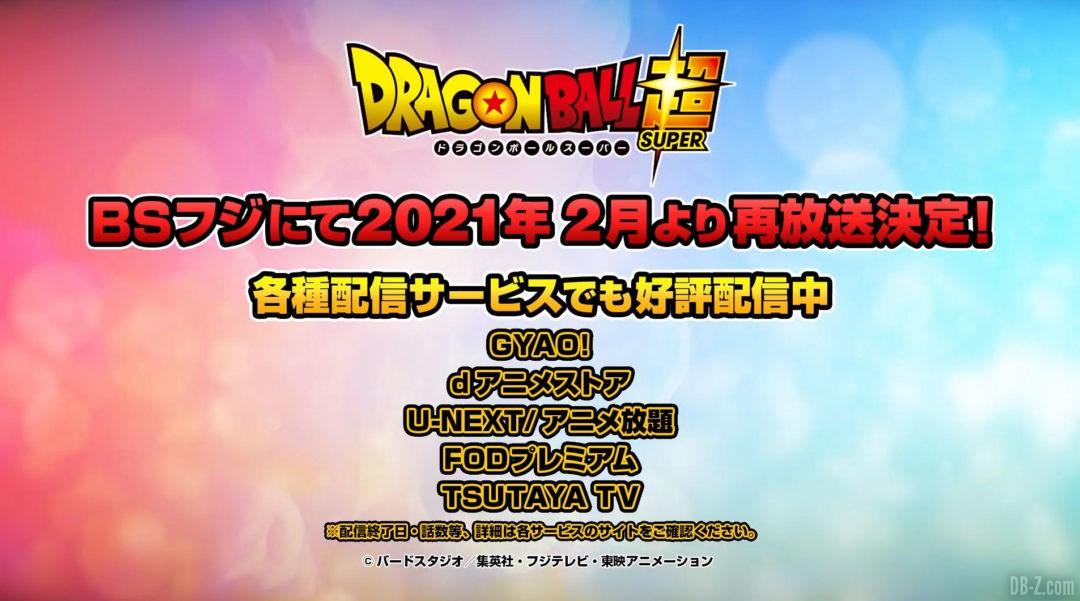Retour Anime Dragon Ball Super Fevrier 2021