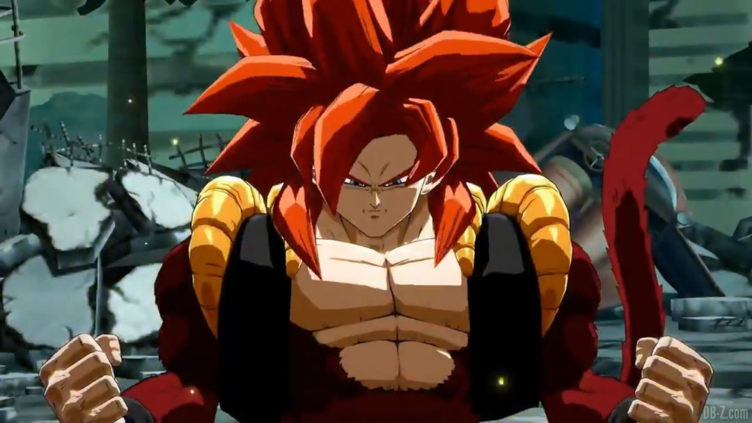Super Gogeta 4 Dragon Ball FighterZ