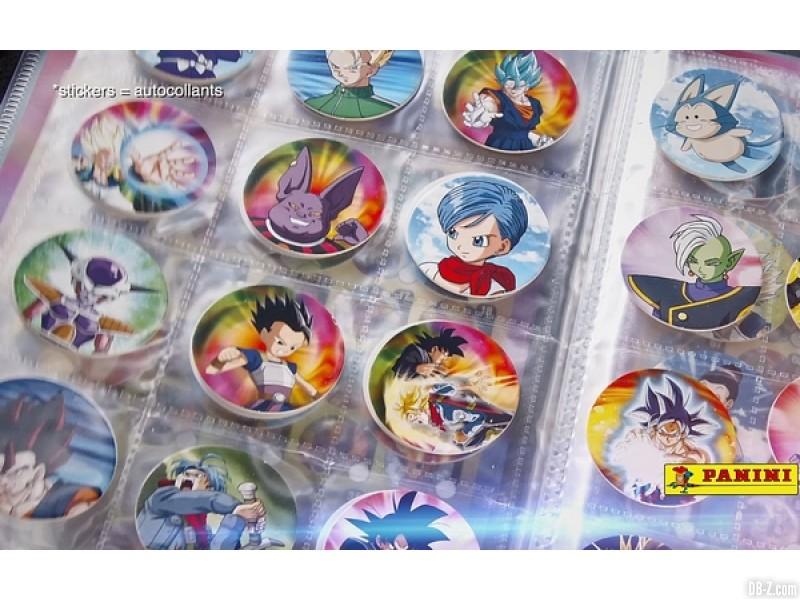 Dragon Ball Super Caps
