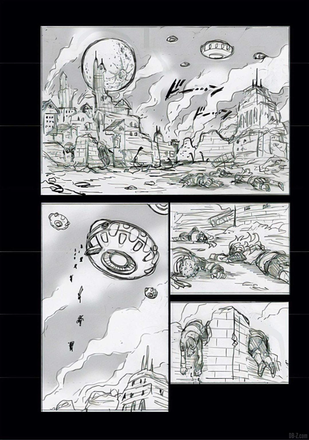 Dragon Ball Super Chapitre 68 Brouillon Page 2