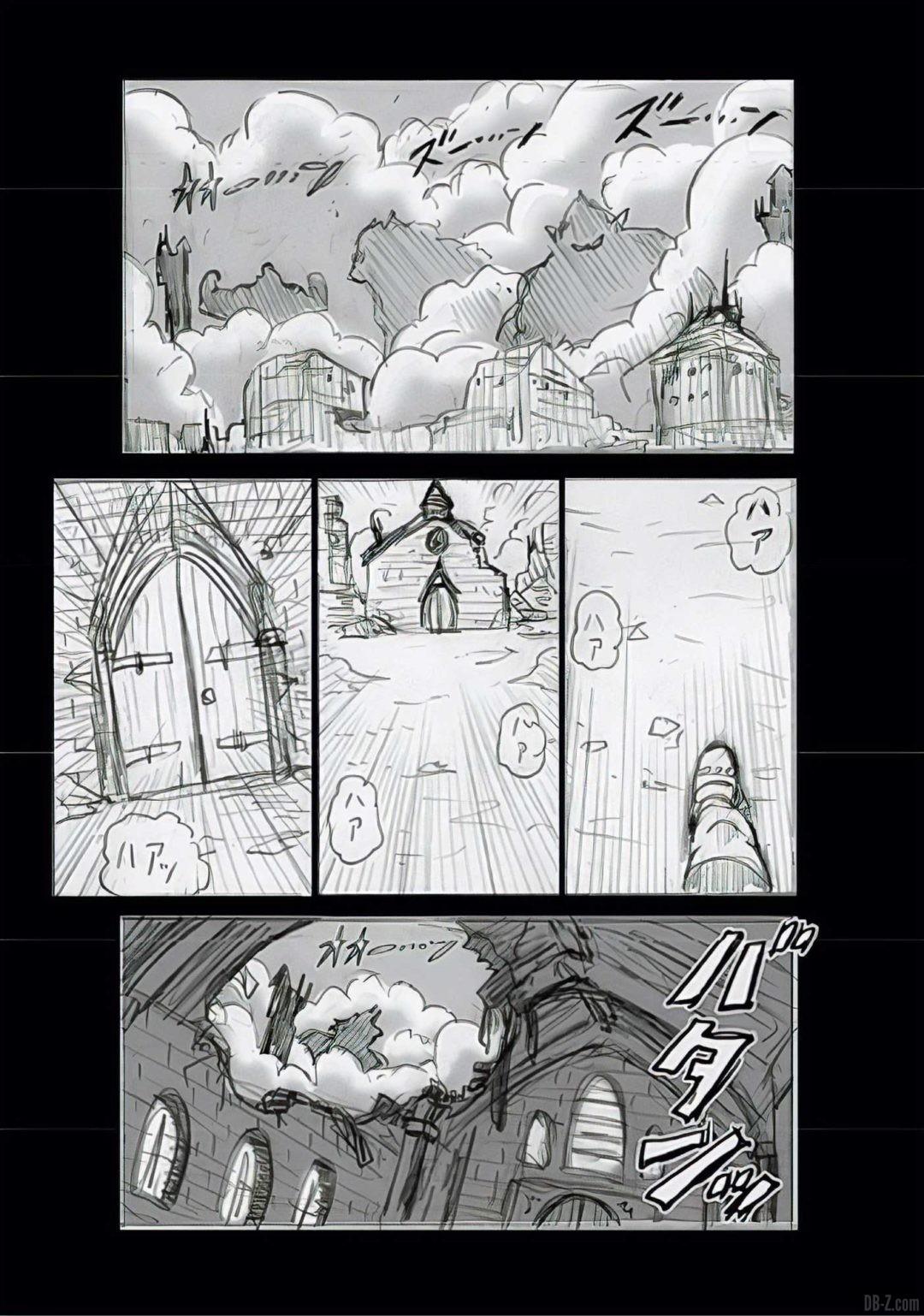 Dragon Ball Super Chapitre 68 Brouillon Page 3