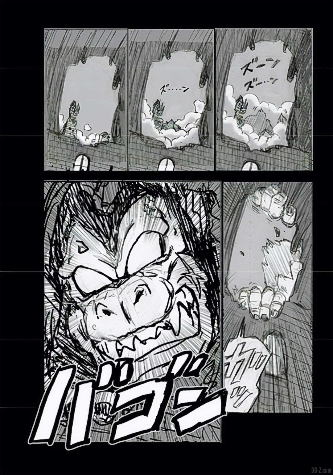 Dragon Ball Super Chapitre 68 Brouillon Page 4