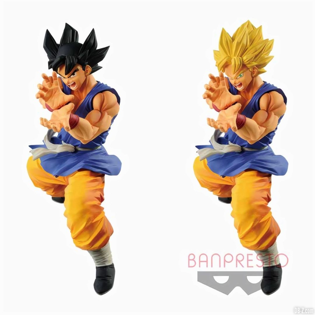 FIGURINE DRAGON BALL GT ULTIMATE SOLDIERS SON GOKU Face