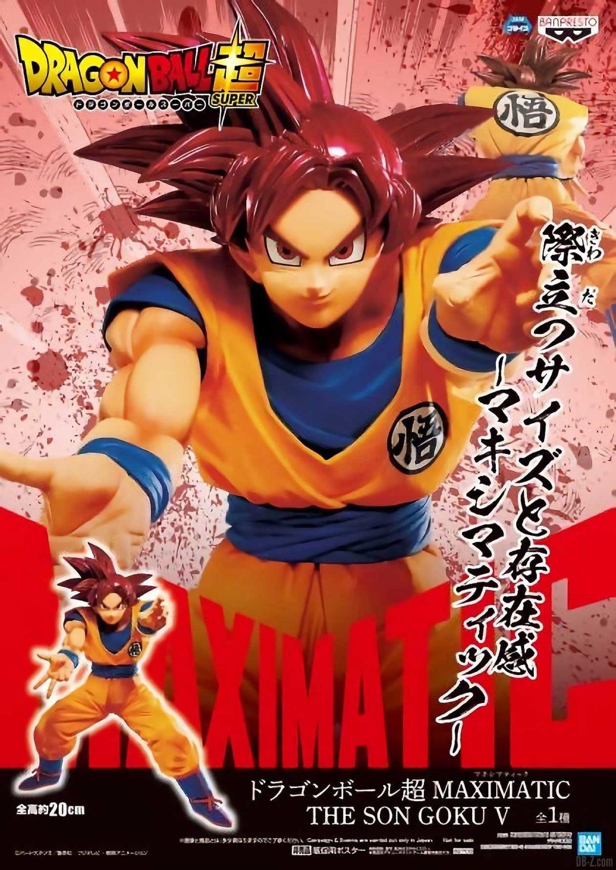 Poster Maximatic The Son Goku 5 Super Saiyan God