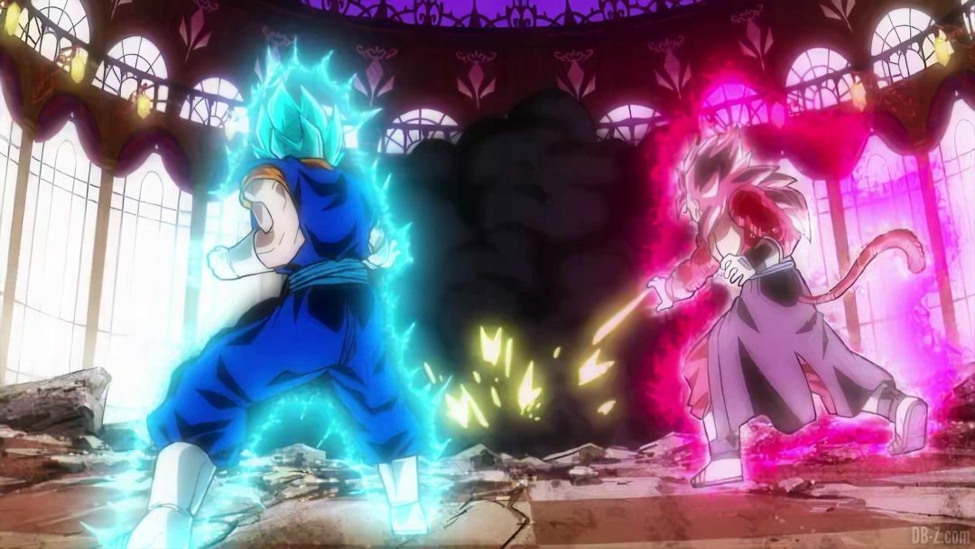 Vegetto Blue et Vegetto SS4 Limit Breaker