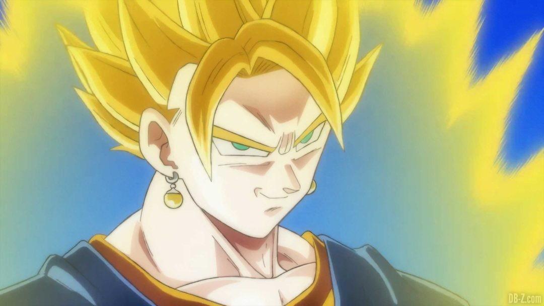 Vegetto Super Saiyan sourit