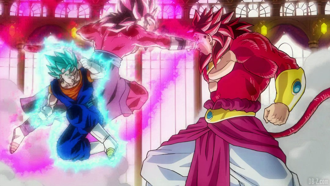 Vegetto vs Broly