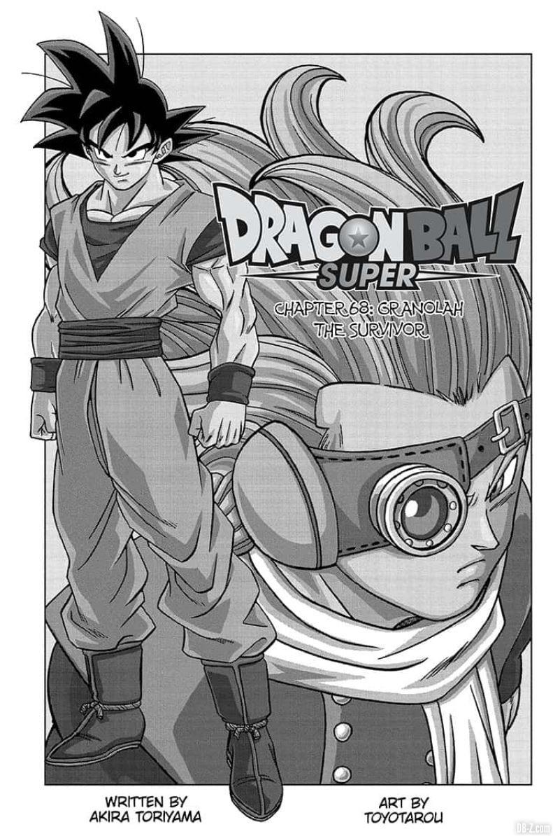 chapitre 68 dragon ball super