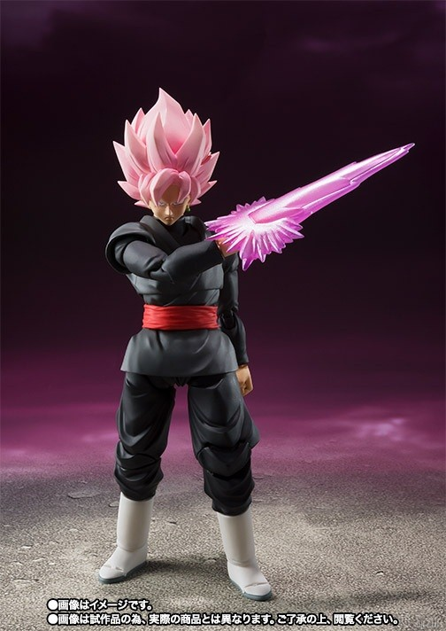 SHFiguarts Goku Black Super Saiyen Rosé