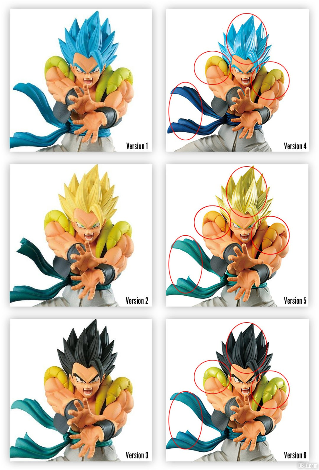 Comparaison-Figurine-Strong-Warrior-Gogeta