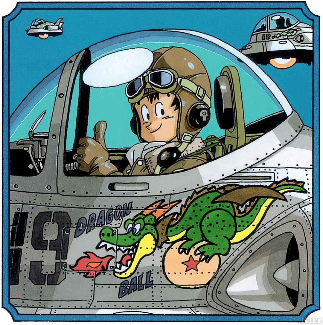 Goku-Aviateur