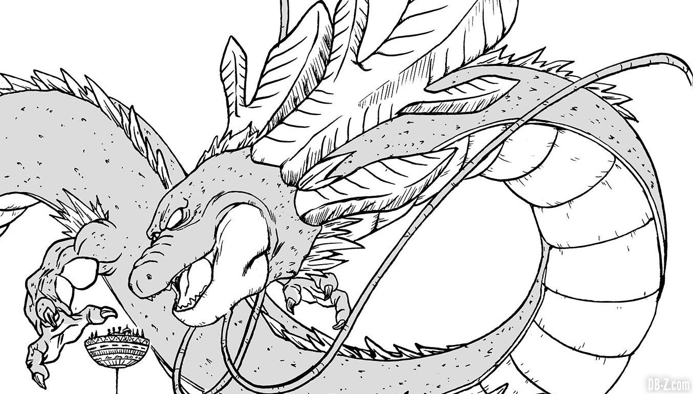 Toyotaro dessine Ultimate Shenron, pour le projet