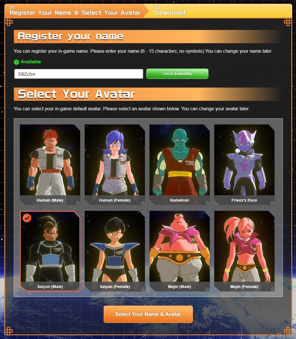 Avatar-Online-Arena-Dragonball-Games-Battle-Hour